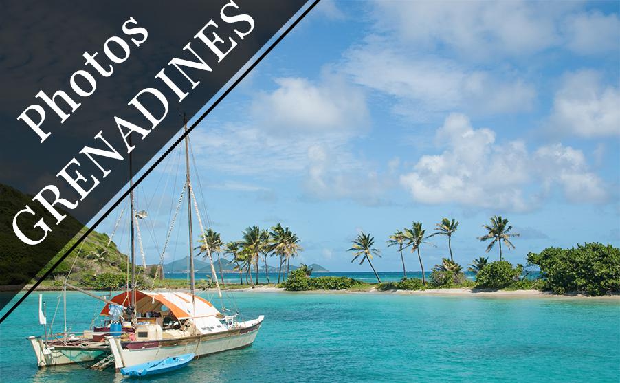Galerie photo des îles Grenadines, de la Martinique aux Tobago Cays